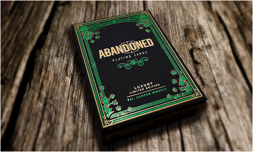 'The Abandoned Room' Playing cards